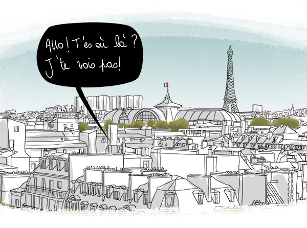 welcome in Paris