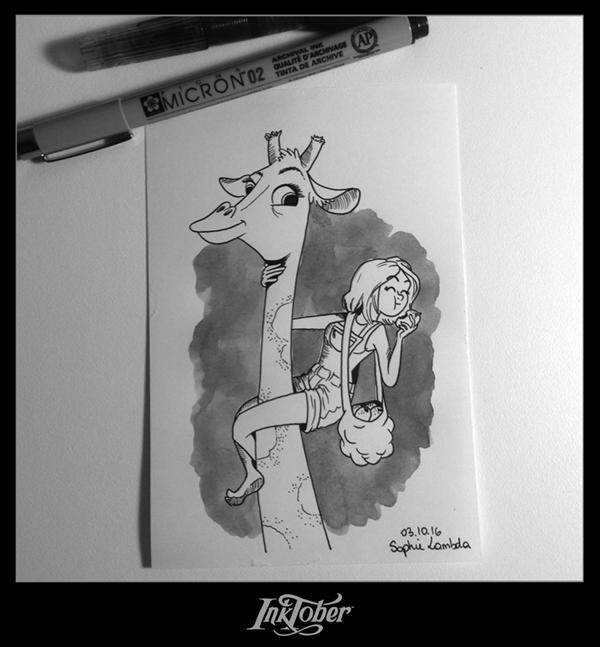 illustratrice encre