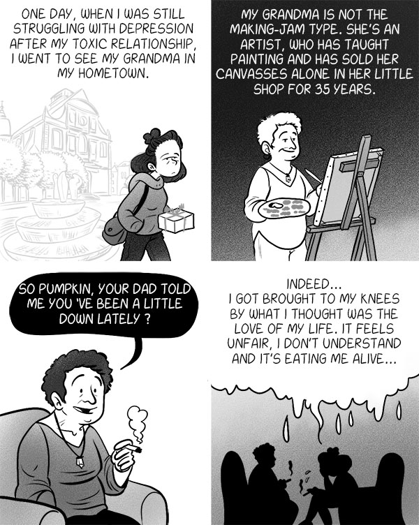 comic-illustrated-novel-narcisstic-disorder