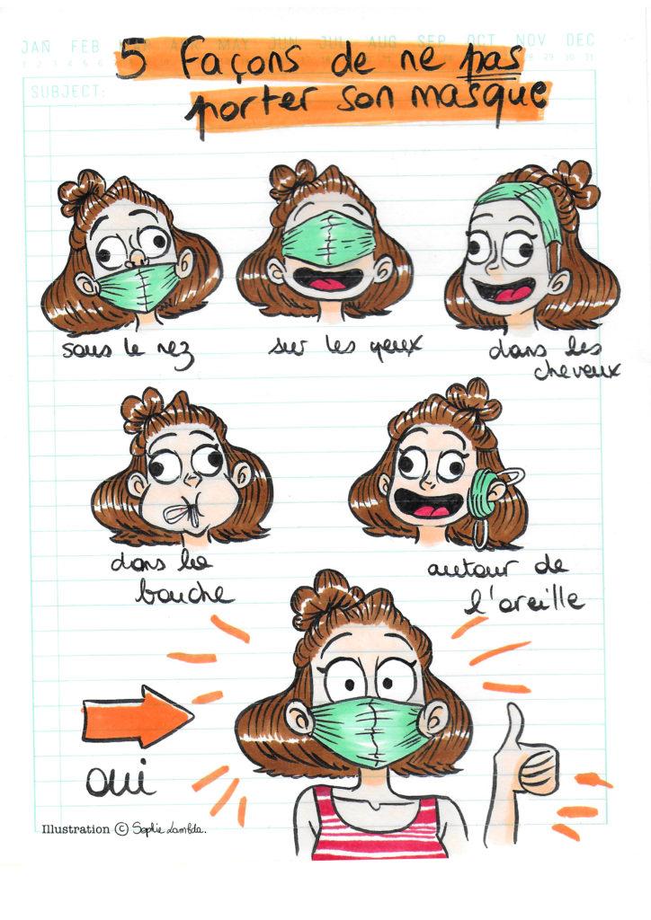 Porter-masque-illustration